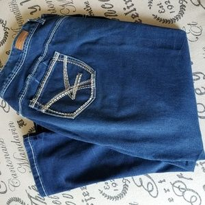 Denim - Size 20 Bodycon Capris
